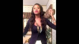 getlinkyoutube.com-Saga naked Brazilian virgin remy hair