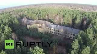 getlinkyoutube.com-Germany: Drone finds ghost Soviet military base still standing after 20 years!
