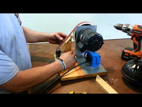 DIY homemade belt sander / grinder