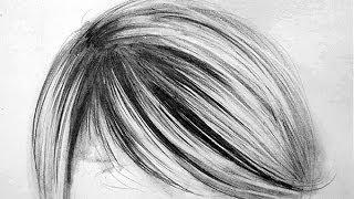 getlinkyoutube.com-How To Draw Realistic Hair - 3 Easy Steps