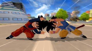 getlinkyoutube.com-Goten And Kid Goku GT Fusion   DBZ Tenkaichi 3 (MOD)