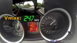 getlinkyoutube.com-Mitsubishi Lancer EVO X MR 0-100 100-200 100-250