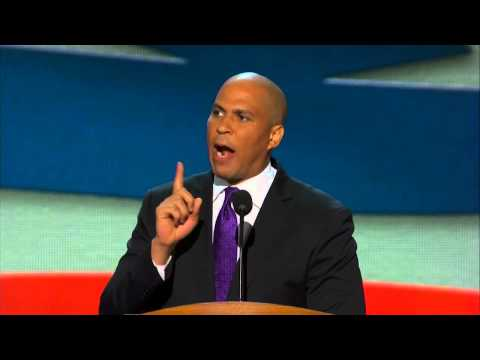DNC 2012 - Cory Booker Speech - 'This is Our Platform'
