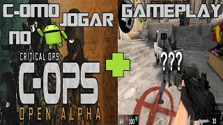 getlinkyoutube.com-Como jogar CRITICAL OPS no Android? + Gameplay no Facebook