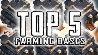 "getlinkyoutube.com-Clash Of Clans | ""TOP 5 BEST TOWN HALL 9 FARMING BASES 