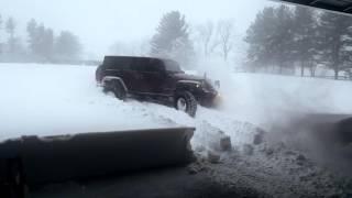 getlinkyoutube.com-Jeep Wrangler Rubicon JKU vs Winter Storm Jonas