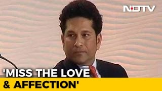 getlinkyoutube.com-I Miss The Love And Affection, Says Sachin Tendulkar