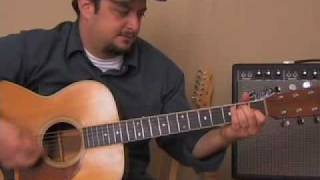getlinkyoutube.com-Guitar Lessons - Folsom Prison Blues by Johnny Cash - cover chords  simple song