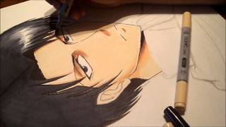 Drawing Levi-Attack on Titan(Aot)
