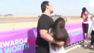 getlinkyoutube.com-لبناني يضرب زوجته أثناء ماراثون بيروت للسيدات