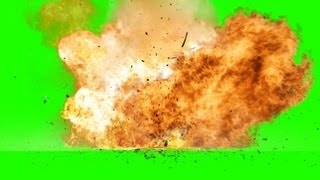 Missile Air Strike - Action Movie - green screen effects