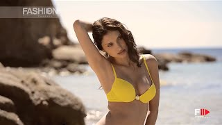 "getlinkyoutube.com-""RITRATTI MILANO"" Beachwear Collection Summer 2015 adv backstage by Fashion Channel"