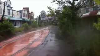 getlinkyoutube.com-【心霊】奈良ドリームランド廃墟1 プール、メインストリート nara dreamland ruins1