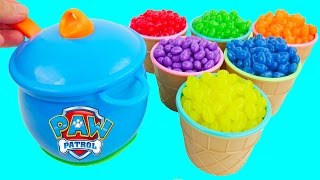 getlinkyoutube.com-Jelly Bean Candy Surprise Toys Play Doh My Little Pony Finding Dory Disney Princess Nursery Rhymes