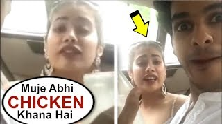 Jhanvi Kapoor Acting Like A KID After Getting Hungry At Dhadak Movie Promotions