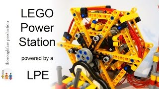 getlinkyoutube.com-LEGO Power Station powered by a LEGO Pneumatic Engine