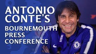 Conte Talks Deadline Day, Transfer Updates & Team News v Bournemouth | Chelsea v Bournemouth