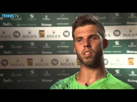 Vesely Shares How He Beat Djokovic Monte Carlo 2016