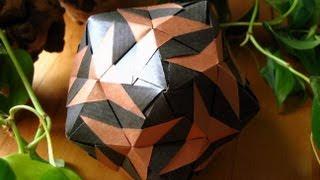 getlinkyoutube.com-Origami ✿ Sirtaki ✿ Kusudama