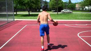 Full Court Windshield Wiper Dribble