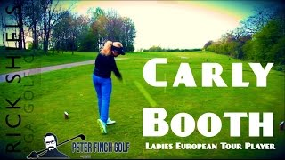 getlinkyoutube.com-CARLY BOOTH - PRO GOLFER COURSE VLOG
