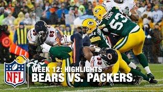 getlinkyoutube.com-Bears Spoil Brett Favre's Retirement Ceremony in Lambeau | Week 12, 2015 Highlights | NFL