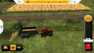 getlinkyoutube.com-Farming Simulator 14 - Gameplay on iPhone 5s