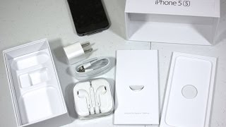 iphone 5s unboxing & first look (space gray 32gb)