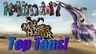 getlinkyoutube.com-My Top Ten Favorite Monster Hunter Monsters!