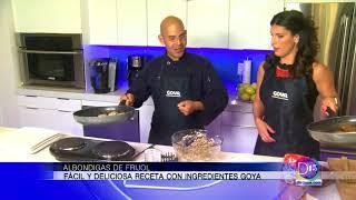 Nuestro Chef Eddie Garza nos dice como preparar albondigas de frijol con productos Goya