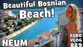 getlinkyoutube.com-NEUM |Travel Vlog Croatia-Bosnia| Euro Road Trip 8 & 9   | Beautiful Bosnian Beach