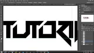 getlinkyoutube.com-Tutorial: Making A Text Logo In Photoshop: Part 1  (Beginner)