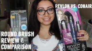 getlinkyoutube.com-Revlon vs. Conair: Round Brush Blow Dryer   Review Comparison
