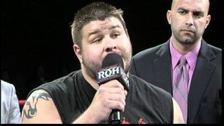 getlinkyoutube.com-Kevin Steen vs. Steve Corino at FINAL BATTLE 2011