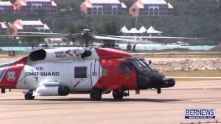 getlinkyoutube.com-Coast Guard Helicopter Take Off, Feb 10 2013