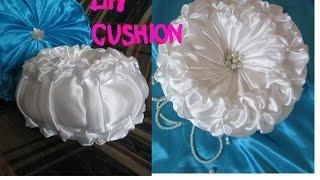 getlinkyoutube.com-DIY Round cushion/small wedding cushion
