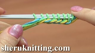 Knit Thick Cast On Edge Tutorial 1 Method 15 of 18 Knitting Cast-On