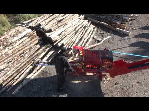 woodMAX Hakki Pilke 60 vedmaskin