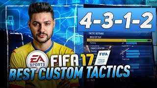 getlinkyoutube.com-FIFA 17 40/40 FUTCHAMPIONS FORMATION TUTORIAL BEST CUSTOM TACTICS & INSTRUCTIONS - HOW TO PLAY 4312