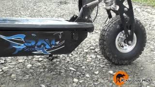getlinkyoutube.com-SXT 1000W Turbo 40 Km/H, Trottinette Electrique Nouvelle génération - Kangour'HOP