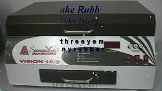 getlinkyoutube.com-Rubber Stamp Making Machine   Photo Polymer   Easy to use