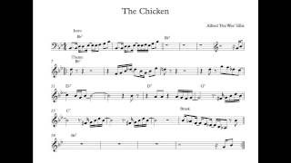 getlinkyoutube.com-The Chicken - Jam Track (No melody or chords)