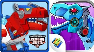 Dinosaurs Robot Wars vs Transformers Rescue Bots: Dino Full Gameplay!