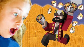 [PART 2] Energetic 11 Year Old Girl Trolled on Minecraft (Minecraft Trolling & Griefing)