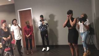 The Walls Group and Fantasia in Houston, Tx. 3-18-17