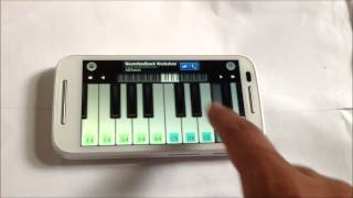getlinkyoutube.com-Tum hi ho - Aashiqui 2 on mobile piano