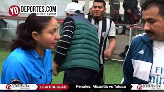 Penales Mizantla vs. Toluca Final Torneo Corto Liga Douglas