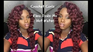 getlinkyoutube.com-Crochet  Braids Curls || Flexi Rods || No HOT WATER!!!! |TAI LO