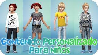 getlinkyoutube.com-Contenido personalizado para Niños - Sims 4 - Reah Mods