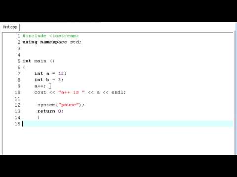 C++ Tutorial - 23 - Compound Assignment Operators